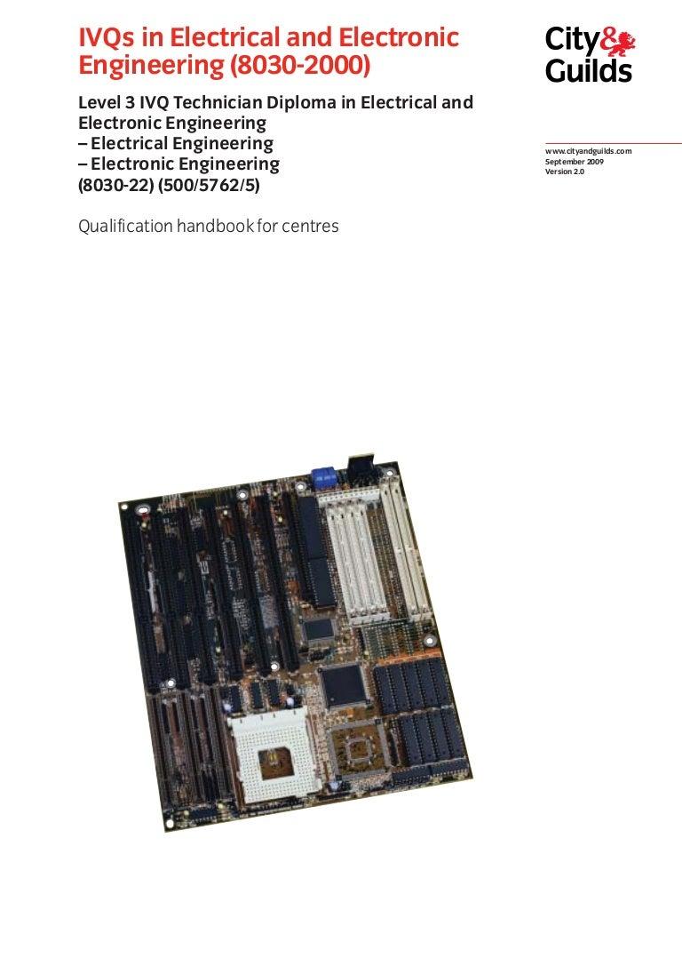 8030 200 L3 Qualification Handbook V1 Dual Display Digital Voltmeter Ammeter Kit Smi Electronics
