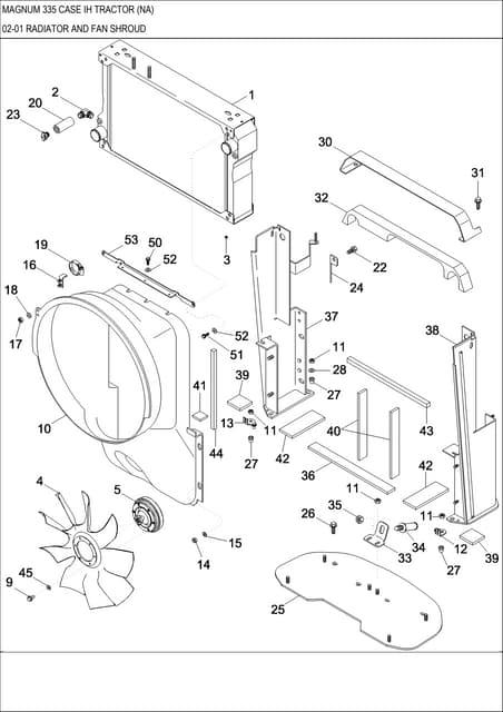 Case IH MX210 MX230 MX255 MX285 MX Magnum Repair Manual