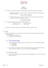335 Chpt 3 Summary
