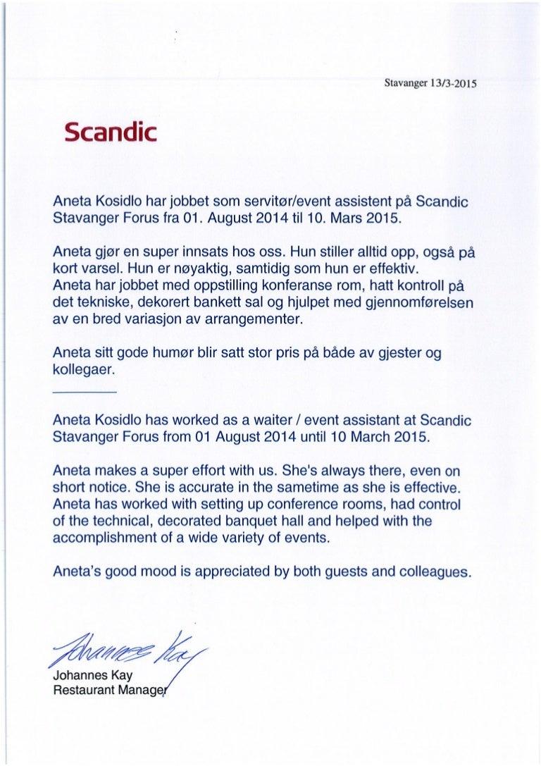 References Scandic 2015aneta Kosidlo