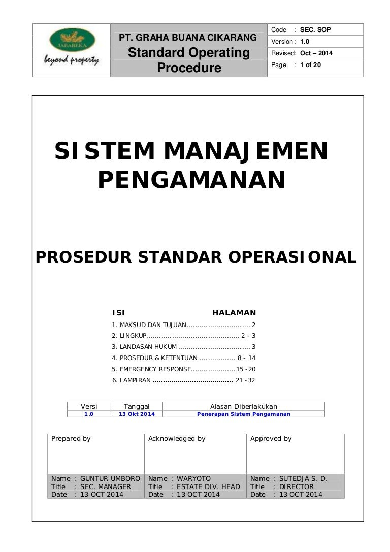 Sop Review Fixed