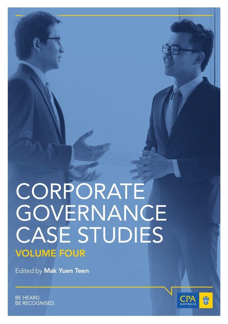 Latest corporate-governance-case-studies