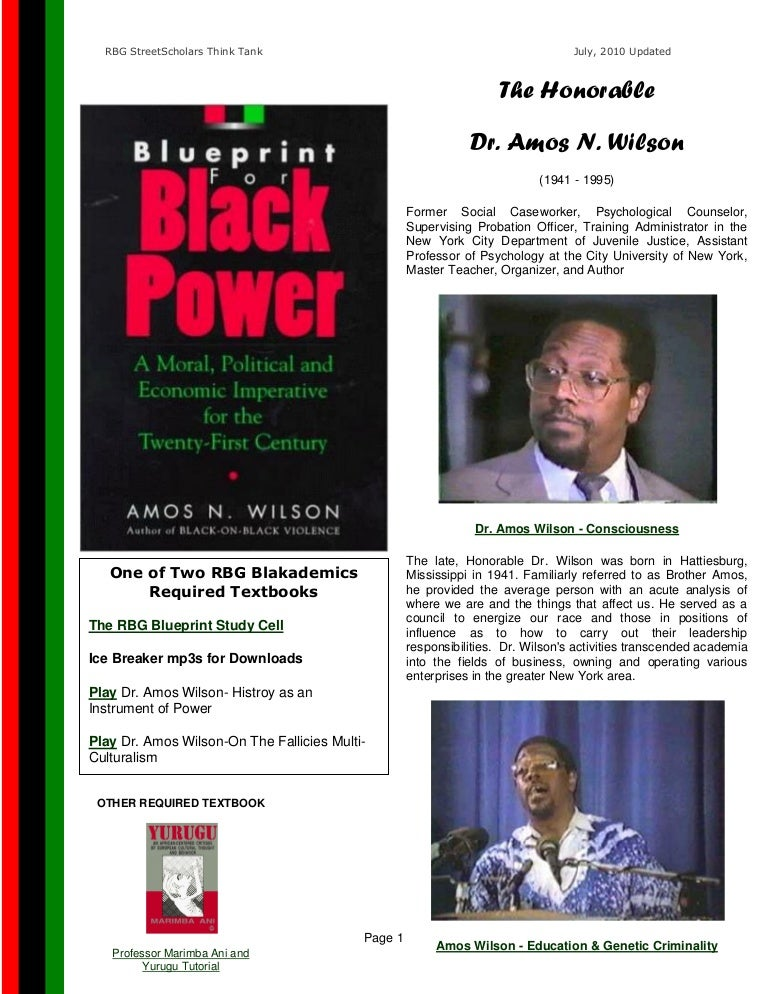 Rbg blueprint for black power study cell guide book updated malvernweather Images