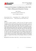 Connected Government: An Exploration of the UAE's Identity Management Integration Strategy