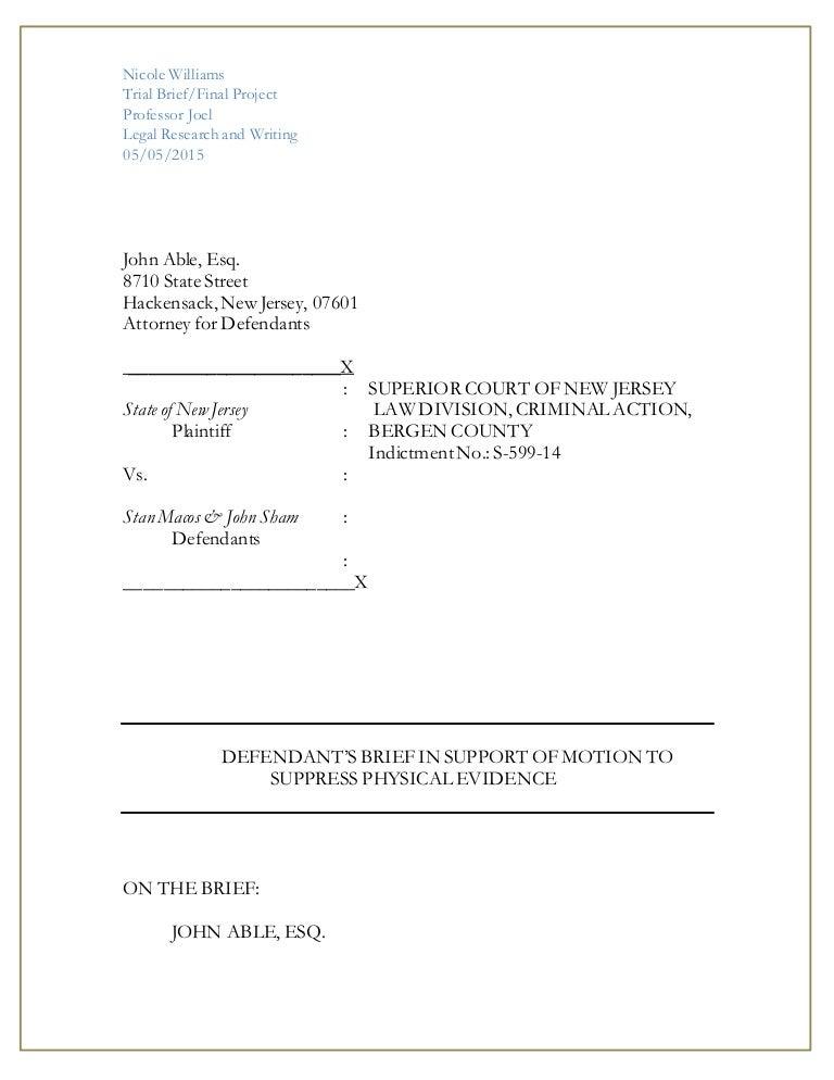 Legal research trial brief final project maxwellsz