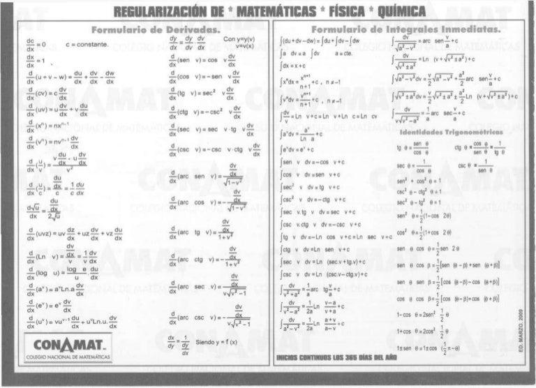 libro de derivadas e integrales pdf