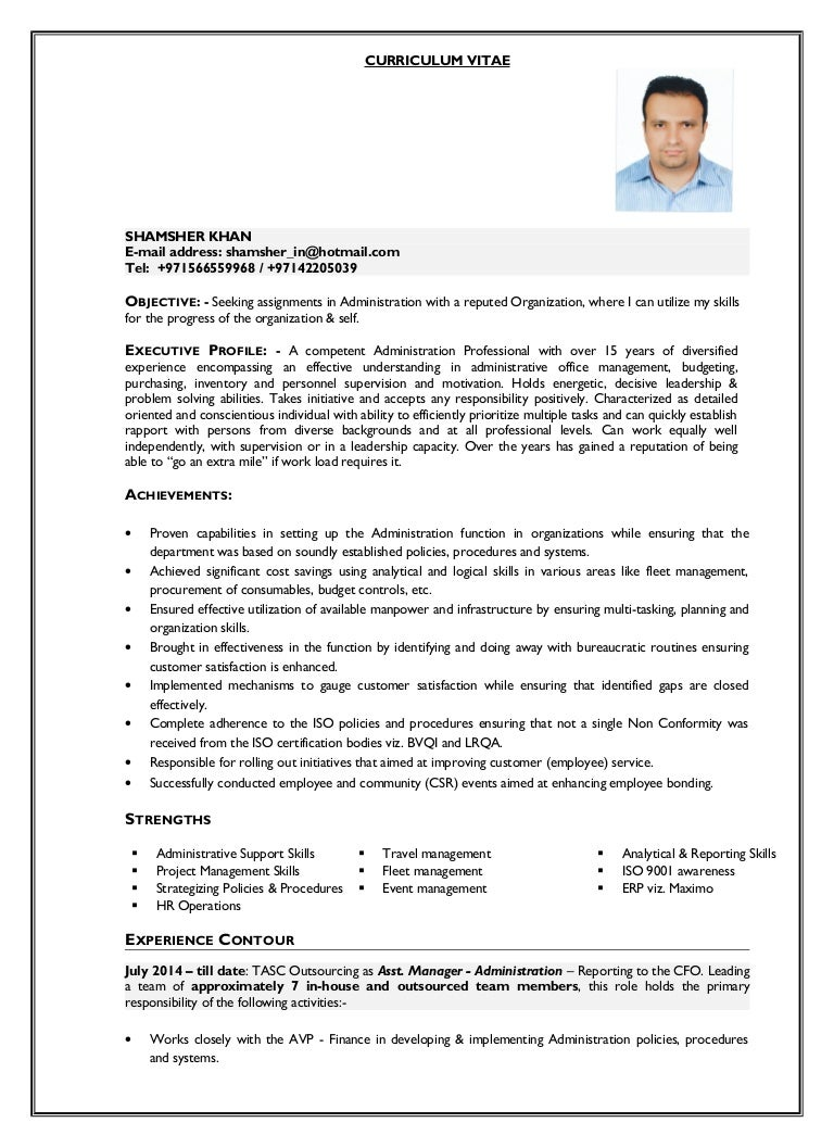 shamsher resume updated