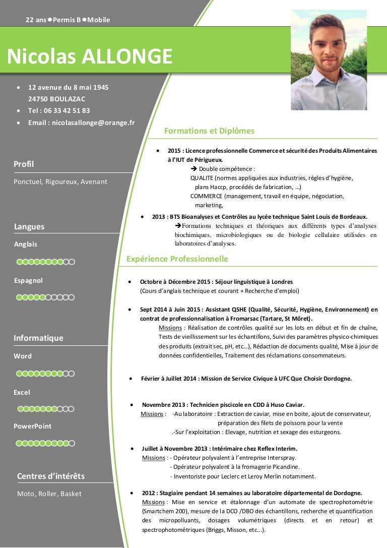 allonge nicolas cv