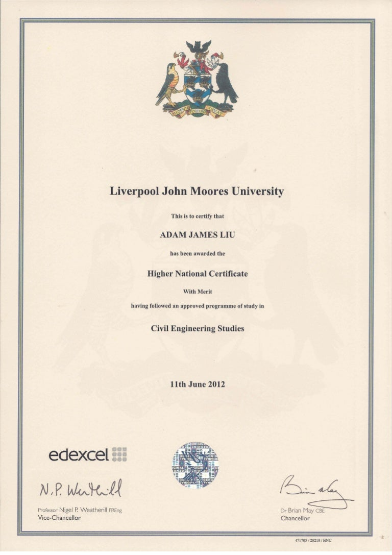 Hnc certificate 1 xflitez Image collections