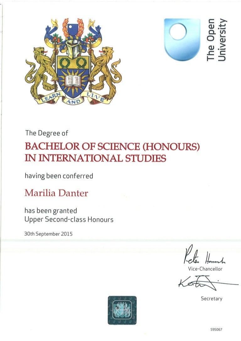 open university degree