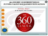 360 degree leadership skills - putting talent management into action