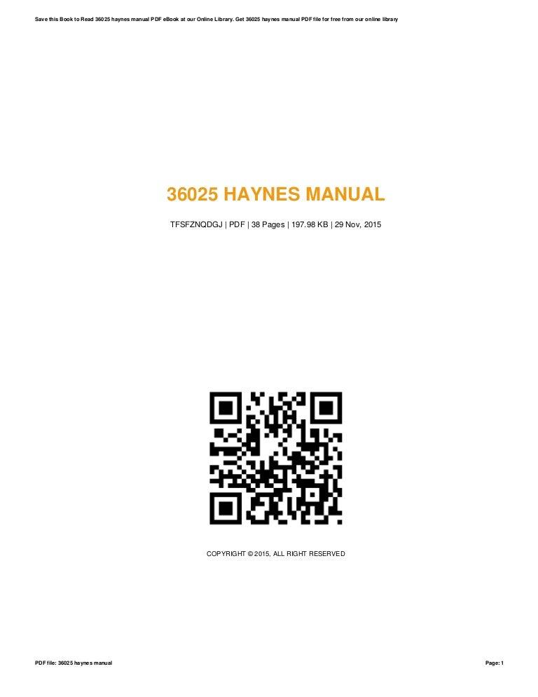 36025 haynes-manual