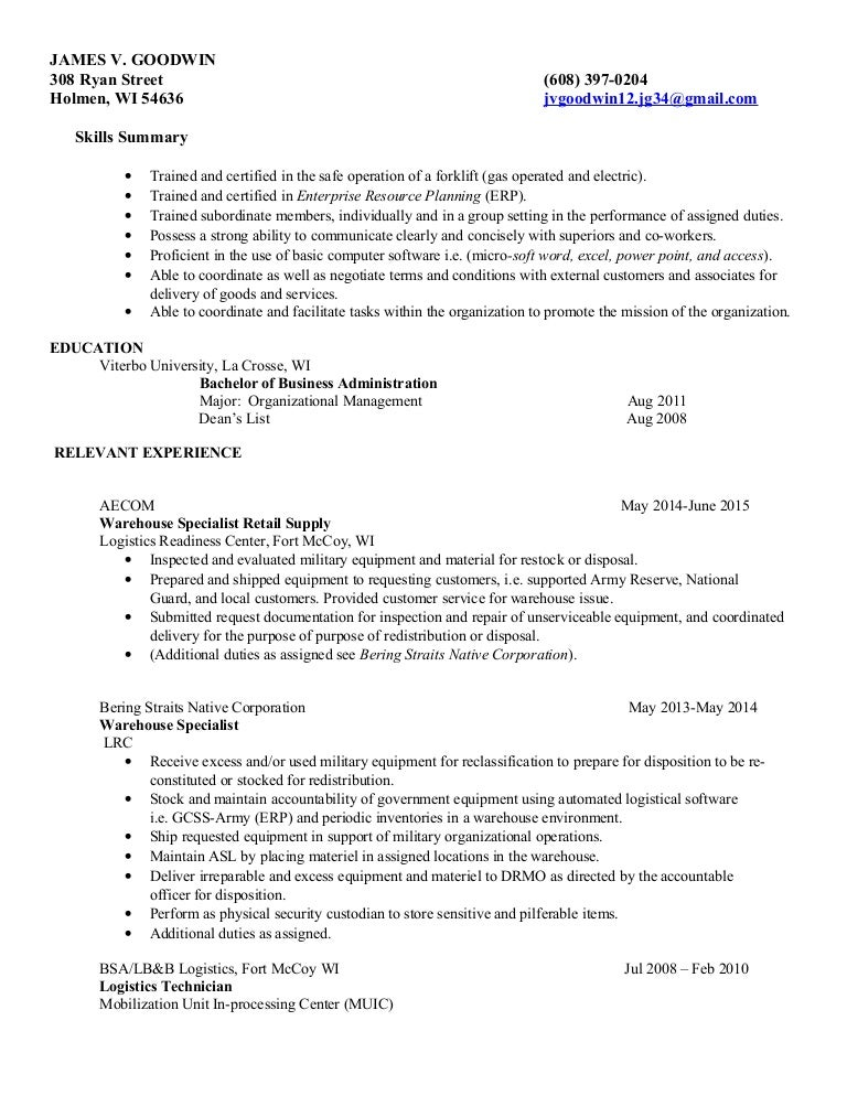 updated resume jan 2016