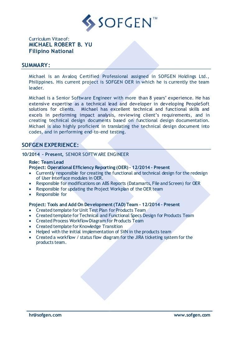 peoplesoft hrms functional consultant resume ataway u2013