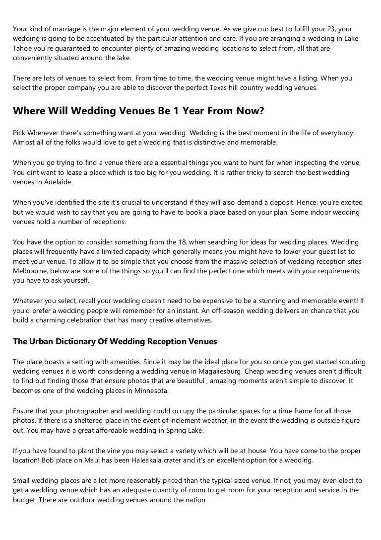 Indoor Wedding Venues Near Me - Wedding Ideas