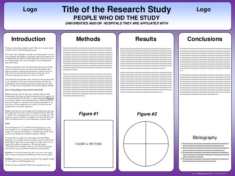 tri fold poster templates
