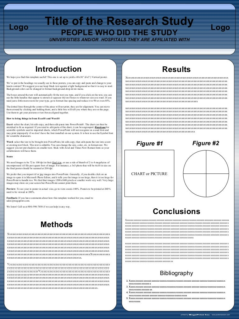 scientific poster template 36x48