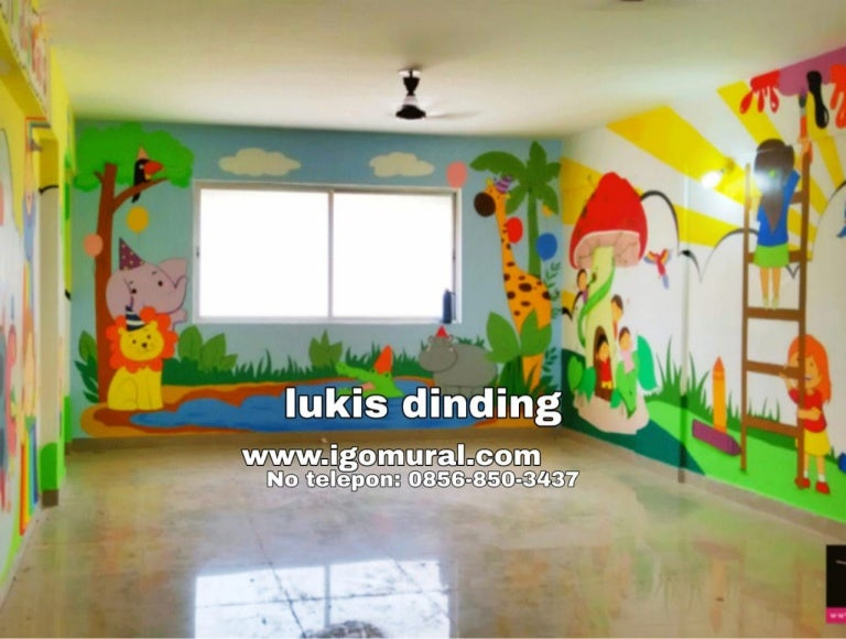 Jasa Lukis Dinding Sekolah Wa 0856 850 3437 Igo Mural