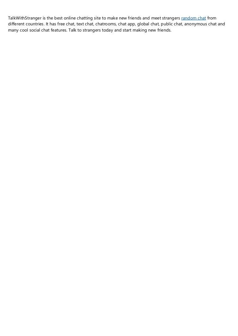 Random text free chat Shagle: Free