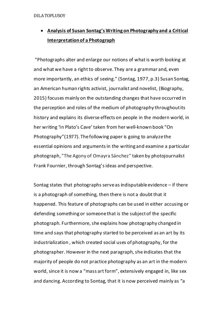 photography essay
