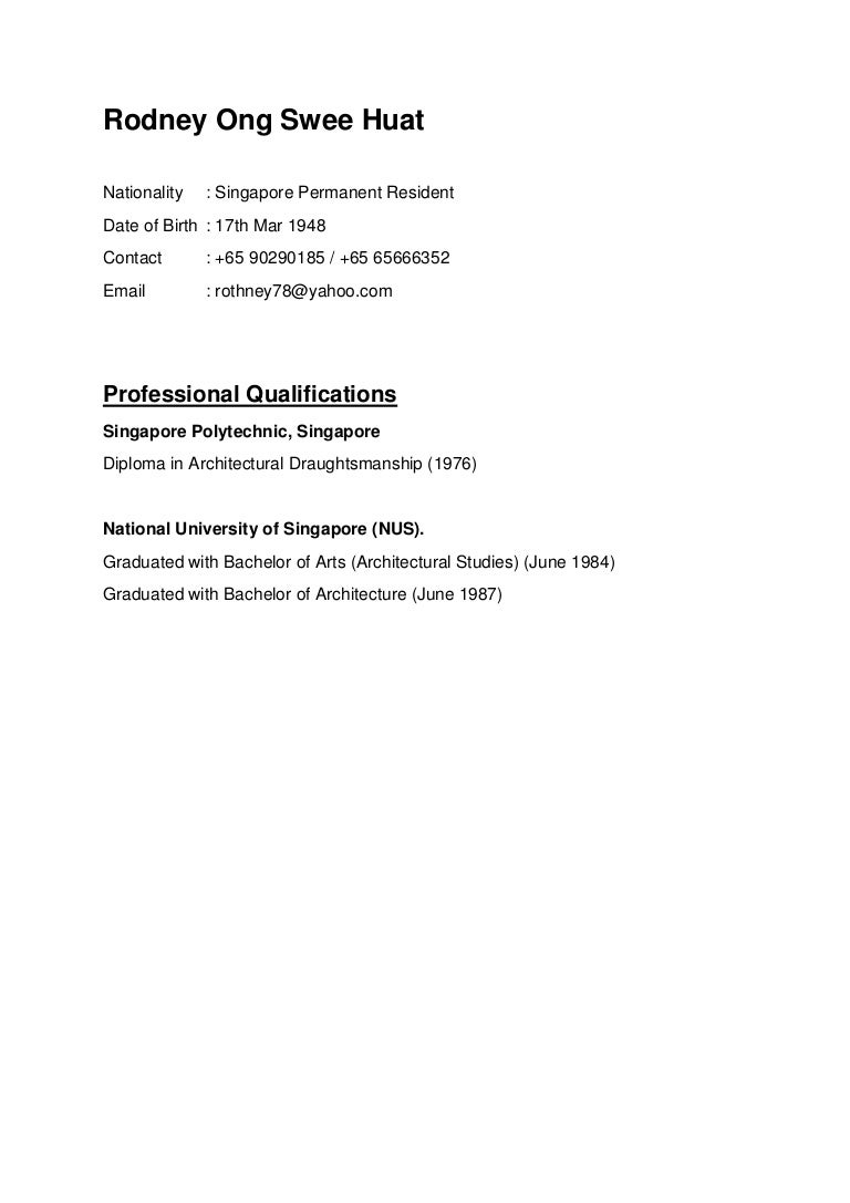 rodney ong swee huat new cv 19062015