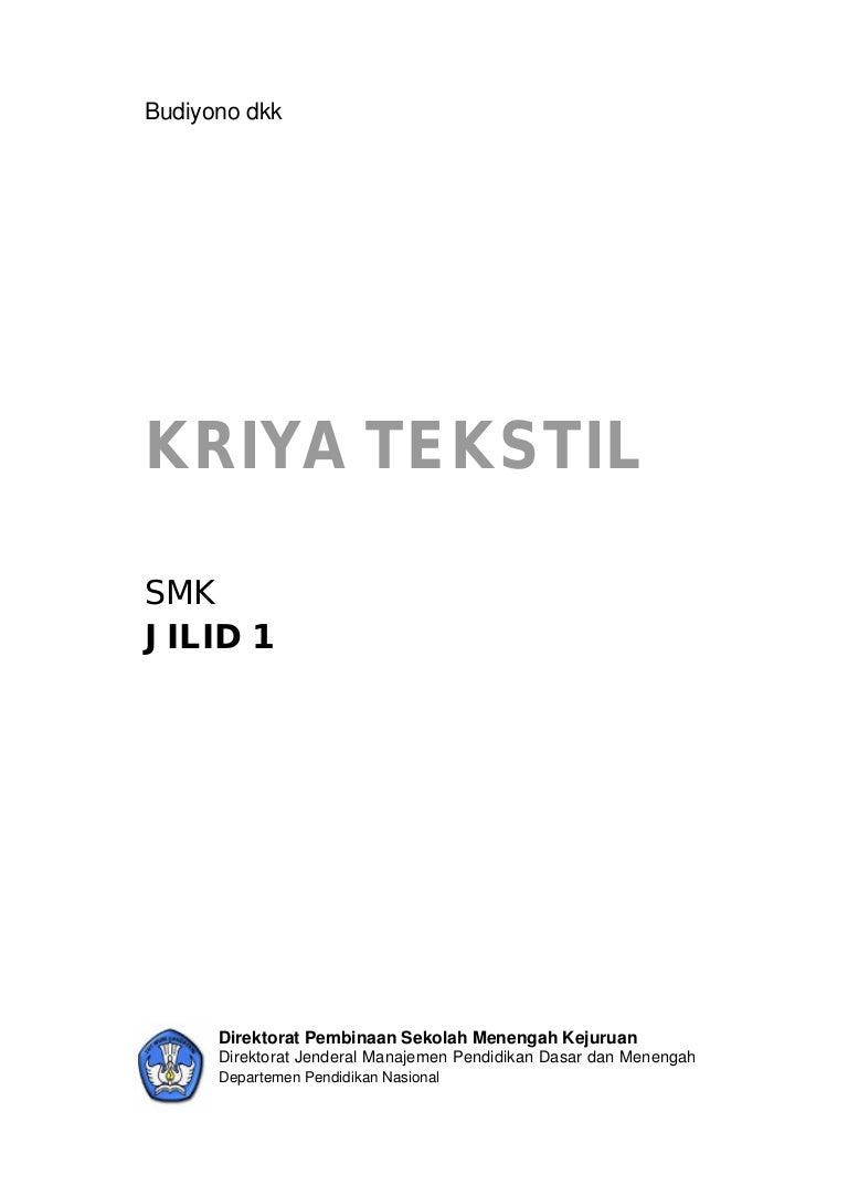 Handbook Kria Tekstil
