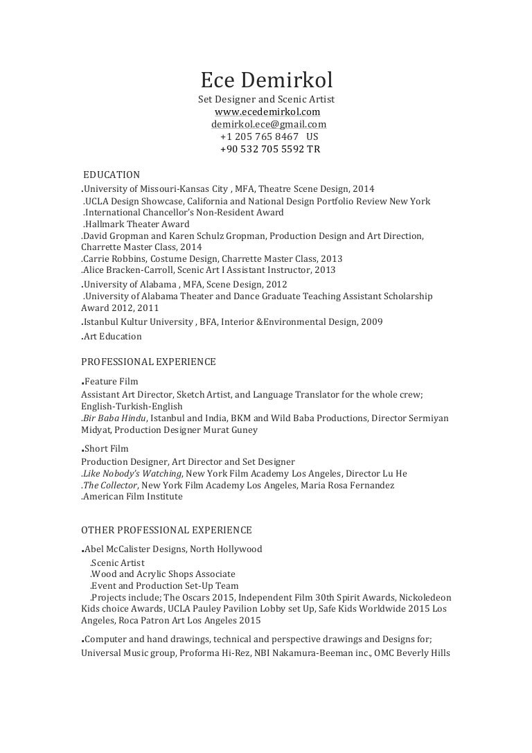 resume fill out form