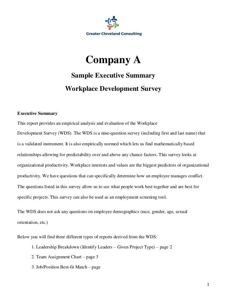 SlideShare  Exec Summary Template