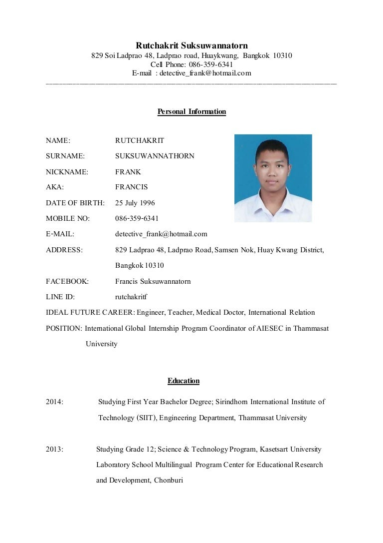 German resume sample full size of resumeresume format for cv template yelopaper Choice Image