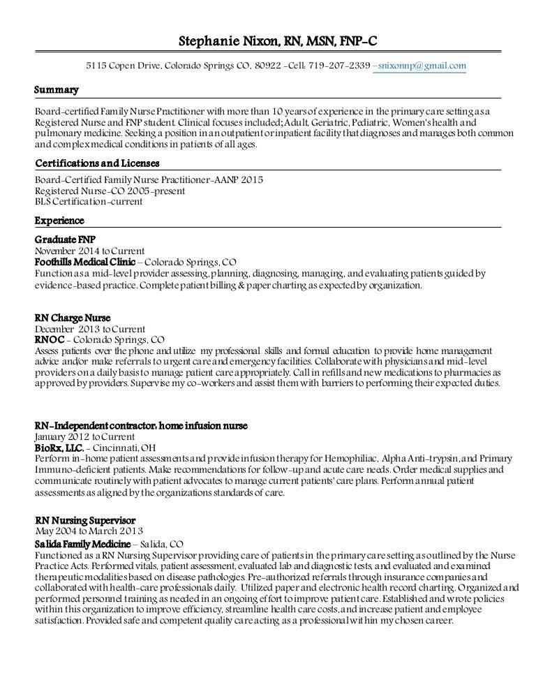 Snixon Npfp Resume