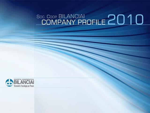 COOP BILANCIAI Company Profile 2010