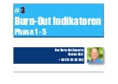 Burn-out Experte Stefan Götz:  #3 Burn-out Indikatoren