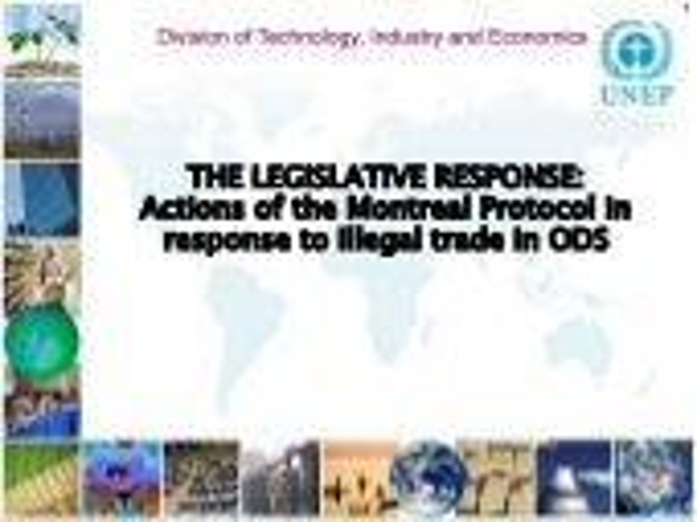Legislative response to ODS illegal trade