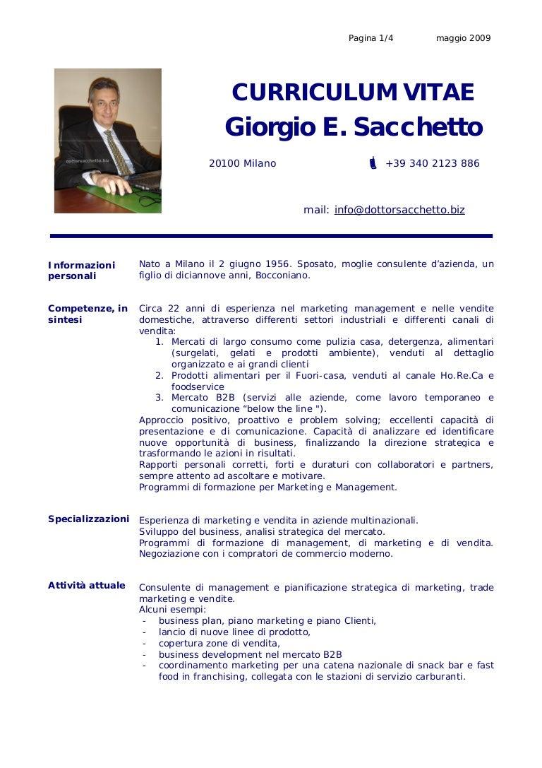 3 Cv Giorgio Sacchetto Maggio 2009