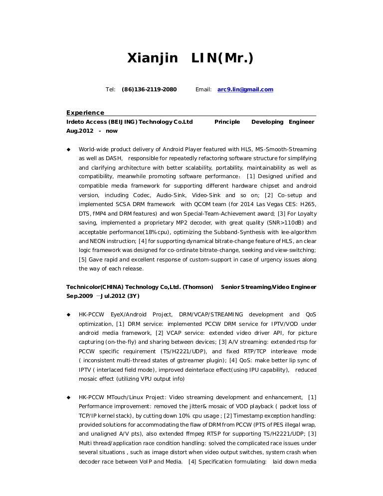 Resume-LIN-en-2014