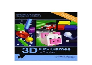 [download]_p.d.f$@@ 3D iOS Games by Tutorials Beginning 3D iOS Game Development with Swift 2 ^^Full_Books^^