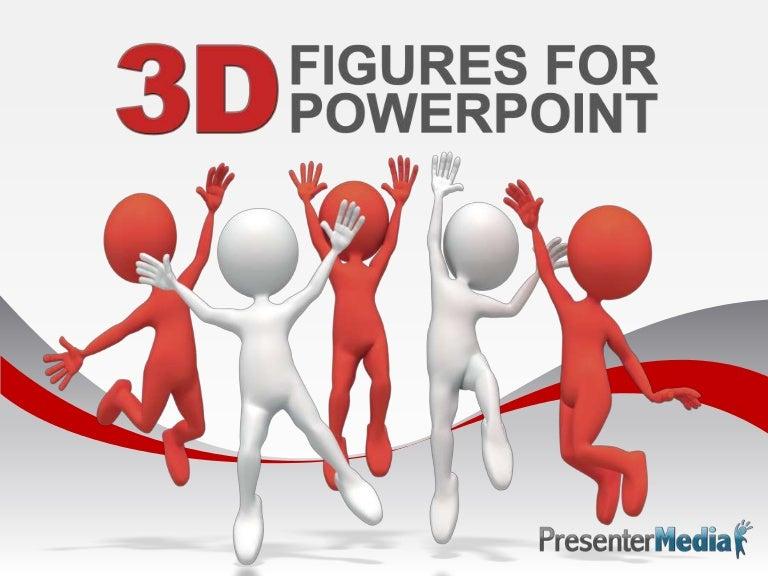 3D PowerPoint Figures