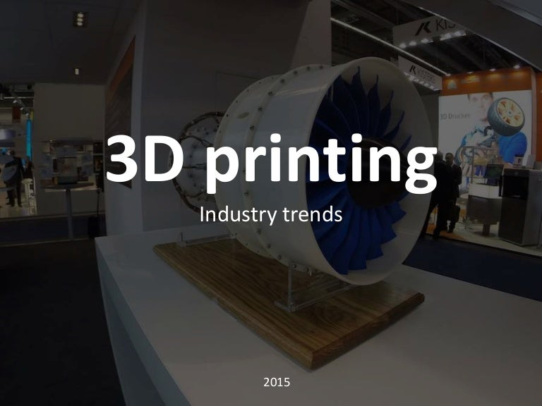 About 3D printing