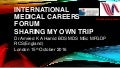 International Medical Careers Forum Oct 15 2016 Sharing My Own Trip Dr Ameed Hamid