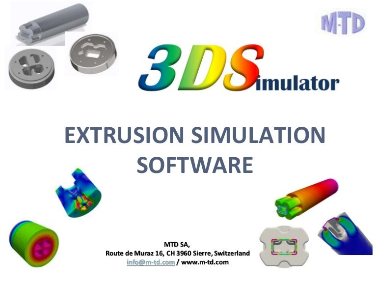 3d Simulator Extrusion Simulation Software