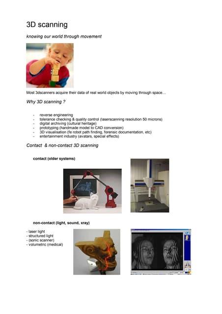 3 d scanning   howest summer classes 2012