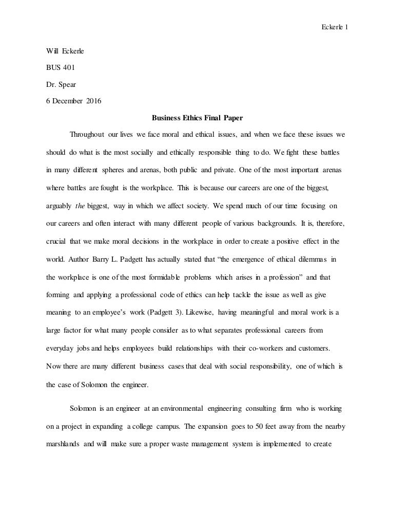 Science Fiction Essay  Sample Essay Proposal also Expository Essay Thesis Statement Business Ethics Final Paper Good English Essays Examples