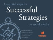 3 essential steps for successful strategies on social media