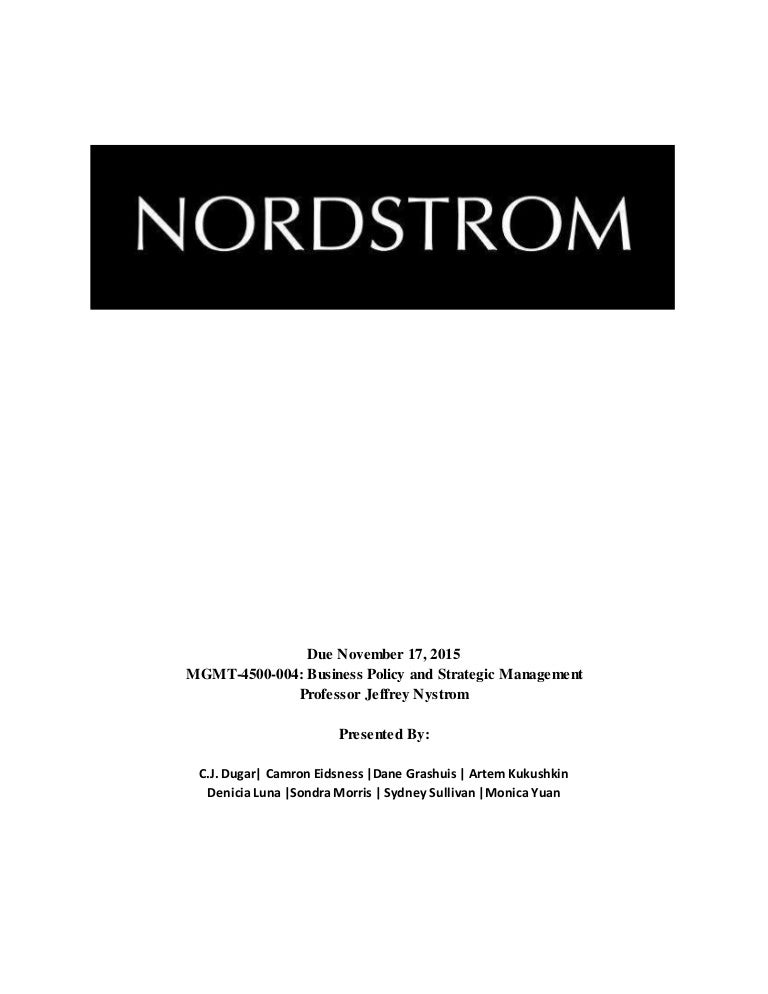 74f1f986ff7 The Nordstrom Project