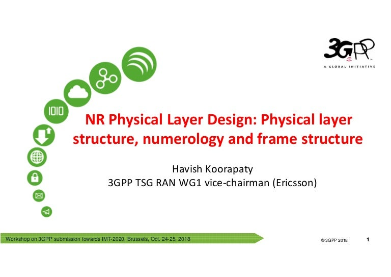 Overview 3GPP NR Physical Layer