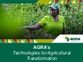 Technologies for Agricultural Transformation