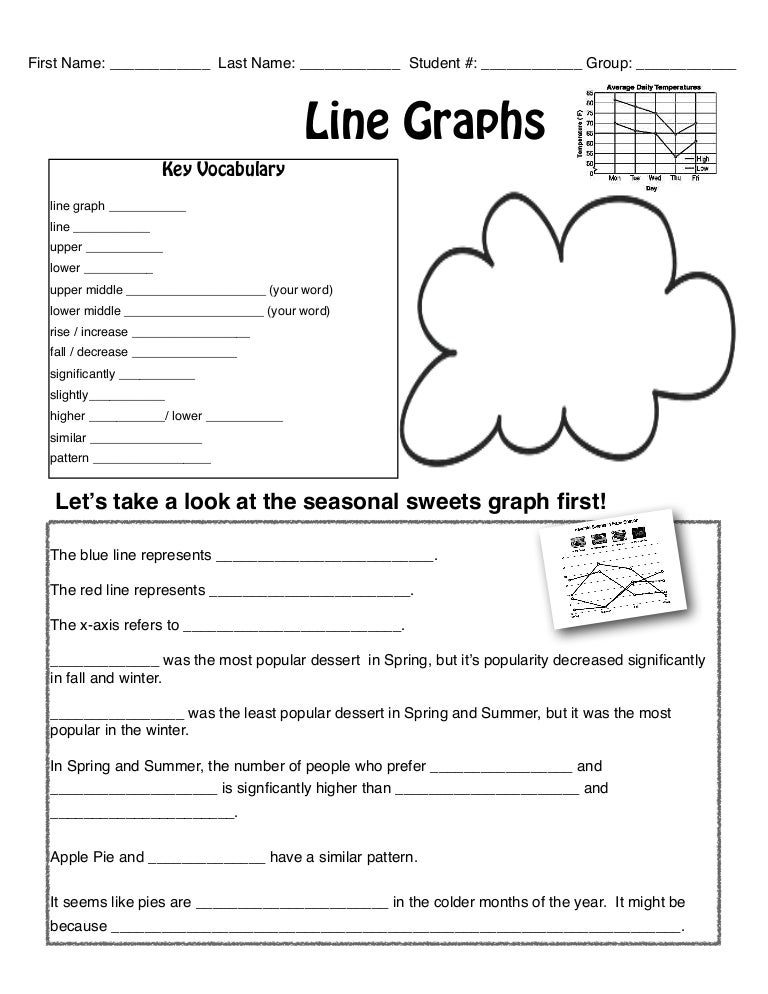 3 line graph worksheet – Line Graphs Worksheets