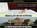 3 modular book writing