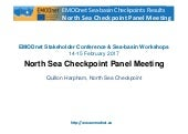 Outputs and recommendations from the North Sea Checkpoint Workshop