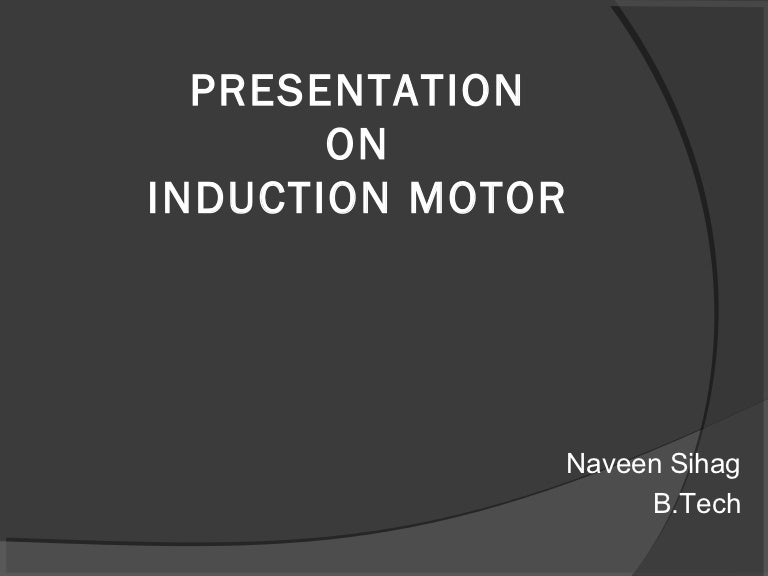 Construction Of 3 Phase Induction Motor Pdf Download